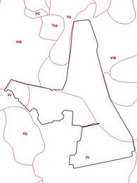 Vēsturiskā augsnes tipa karte.