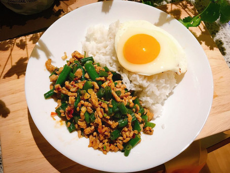 Student Budget Meal Recipe: Pad ka Prao