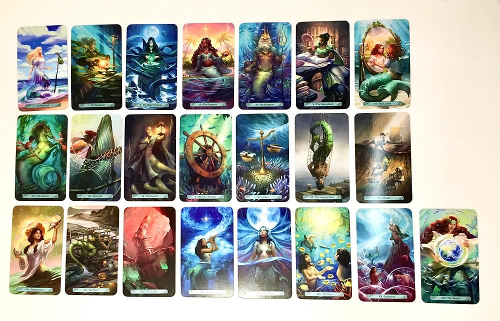 Mermaid Tarot Major Arcana