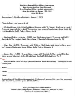 Sporting Clays Shootout 2020