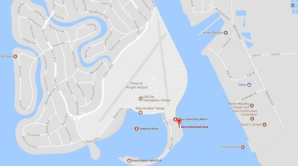davis island florida boat ramp