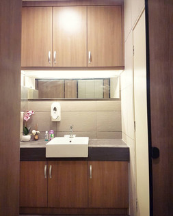 Built-in Laminated Toilet Cabinets