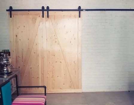 Twin Barn Doors