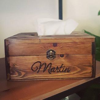 The Rustikale Tissue Box