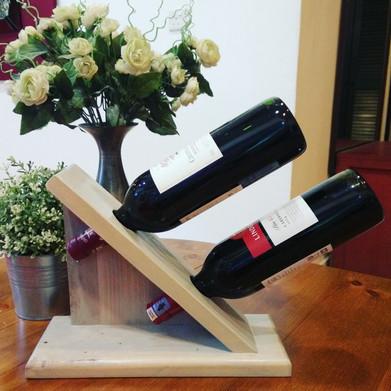 Émile Dual Wine Bottle Holder
