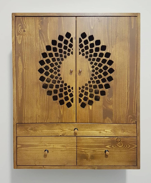 Laxmi Prayer Cabinet