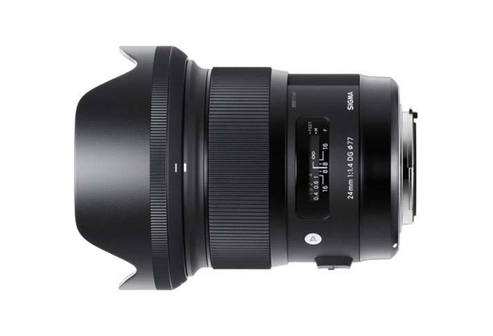 Sigmaa 24mm 1.4.