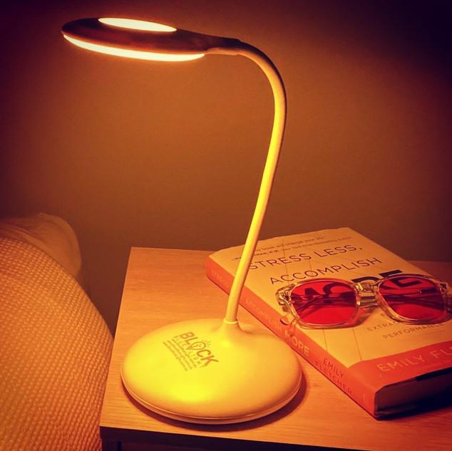 NoBlue Amber Sleep Lamp