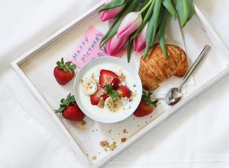 Creative breakfast in bed recipes for Mother's Day