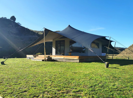 Unique tents, Milky Way views, delicious food: why NZ glamping is on the rise