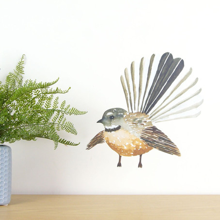 StickyTiki on why Kiwis are loving all things wall decal - especially native birds!