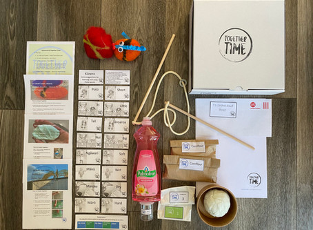 Together Time founders: Why we started an activity subscription box for kids!