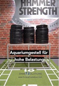 Aquariumgestell für hohe Belastung