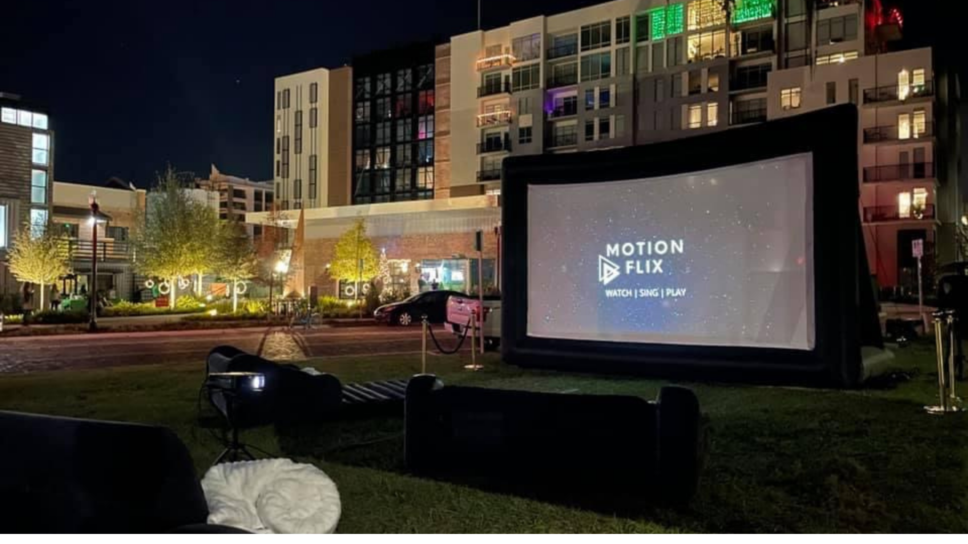 Premiere Package 20ft Screen