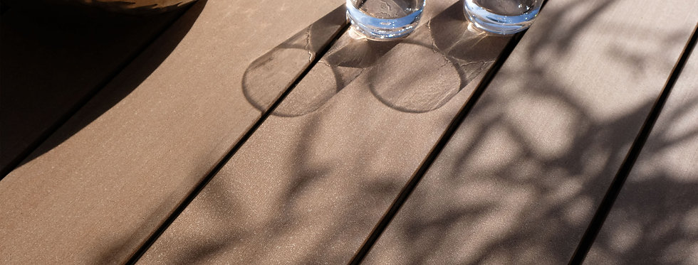 MyDeck Diele - COLOURS one wide siena-plain