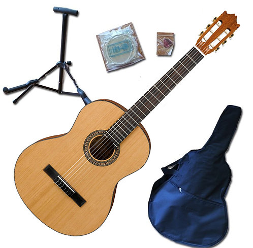 3/4 Size Acoustic Guitar Pack - Natural