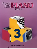 Book 3 : Bastien Book Level 1