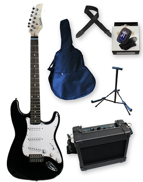 Discovery Electric Guitar Pack - Black