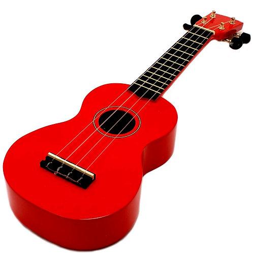 Spectrum Soprano Beginner Ukulele - Red