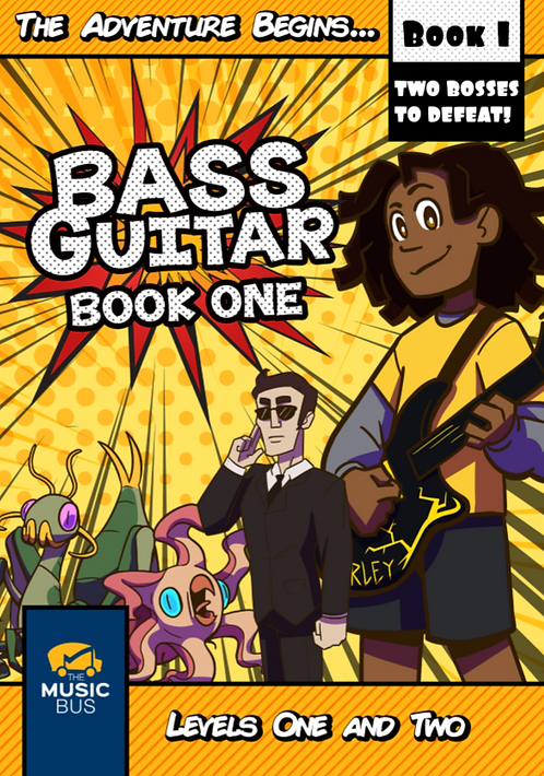 Bass Guitar Book One