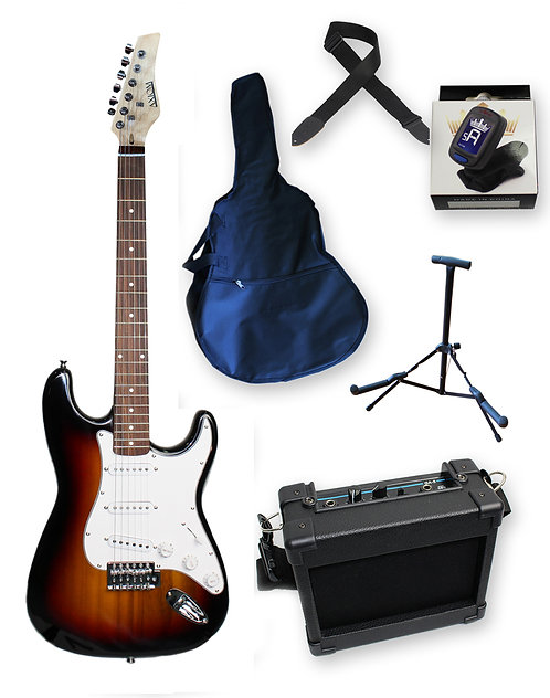 Discovery Electric Guitar Pack - Starburst