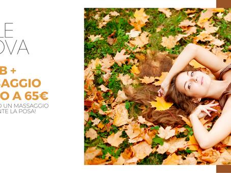 Promo autunno: cambio stagione, cambia la pelle!