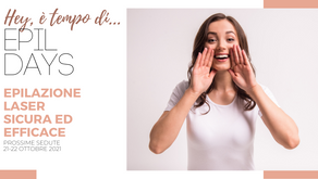 #EpilDays: prenota la tua depilazione definitiva al laser!