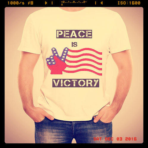 Peace is Victory T-Shirt