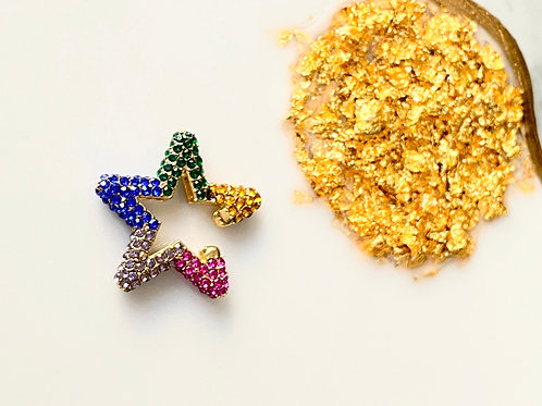 Star Rainbow earcuff