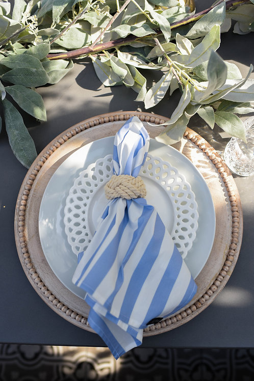 Servilletas Blue Stripe
