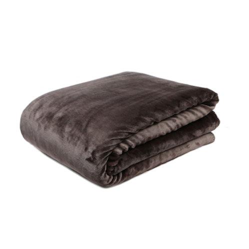 Slate Fleece Throw