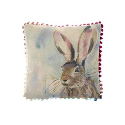 Voyage Harriet Hare Arthouse Cushion