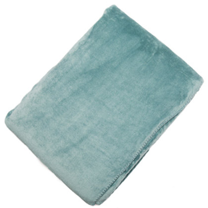 Seafoam Fleece Throw