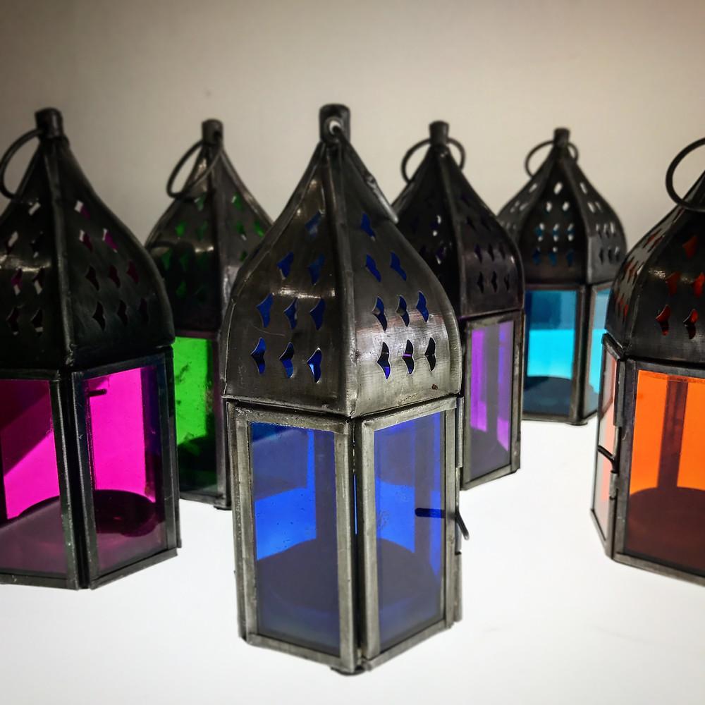 T-Light Lanters £4