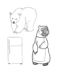 Fridge Bear [1C3-B34R]