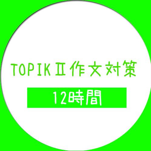 TOPIKⅡ作文対策【12時間パック】