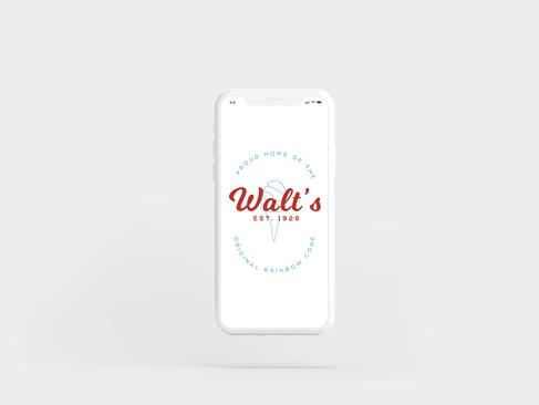 Walt's Ice Cream Shop