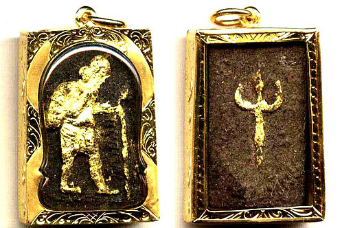 Waterproof goldcase, Chuchok amulet.