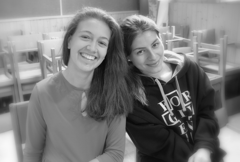 Alexia y Karen