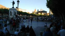 La Iglesia en la Plaza Cervantes