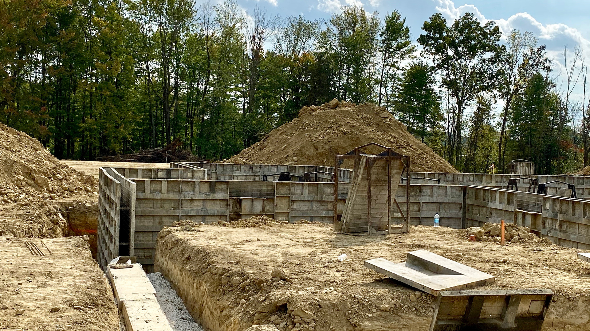 The first two homes are under construction!