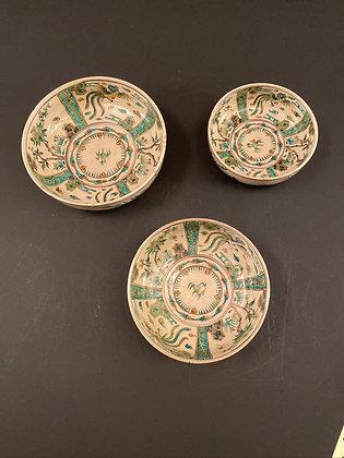 Seto Bowls (set of three) [DW-B 294]