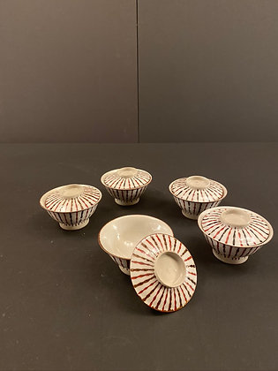 Seto Bowls (set of five) [DW-B 299]