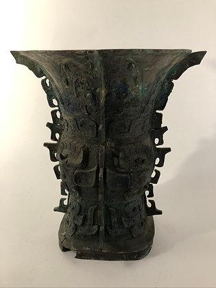 Chinese Bronze Vase [TI-V 384]