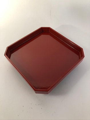 Red Lacquer Tray [H-T 299]