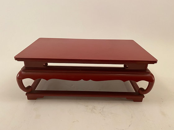 Lacquer Display Stand, red [H-DS 408]