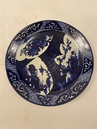 Imari big Plate [DW-P 409]