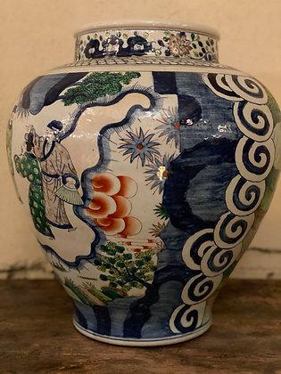 Porcelain Vase [H-V 380]