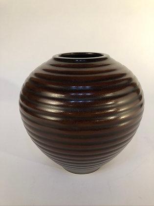 Signed Bronze Vase [H-V 154]
