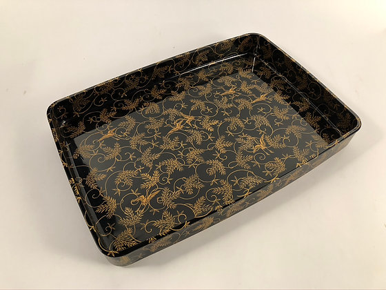 Makie Lacquer Tray [H-T 196]